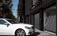 Подъемно-поворотные ворота для коллективных гаражей ET 500