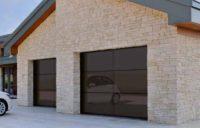 Подъемно секционные гаражные ворота ALR F42 Vitraplan