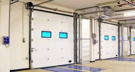 Промышленные подъемно-секционные ворота Alutech