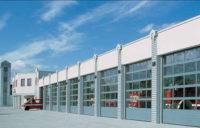 Подъемно-секционные промышленные ворота APU F42 Thermo